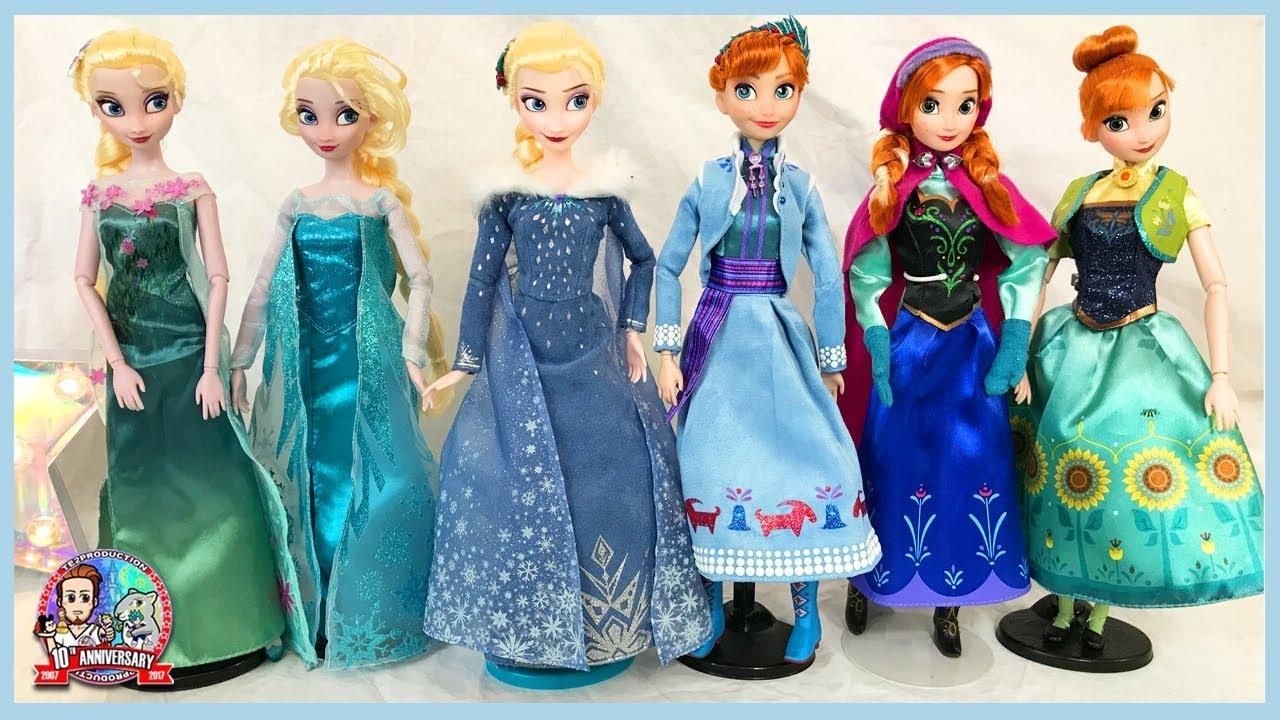 nouvelles poupees disney reine des neiges elsa anna - Barbie Reine Des Neiges
