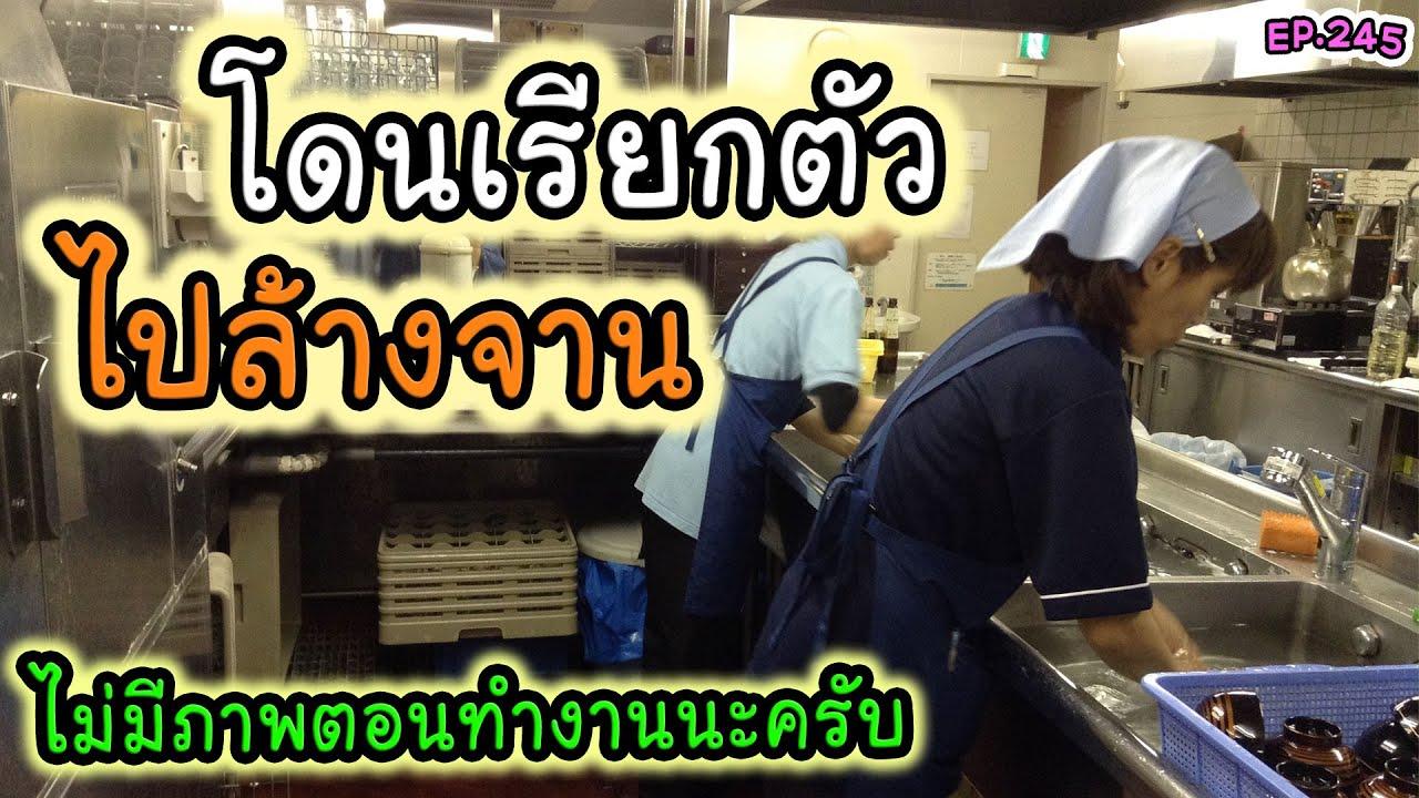 เม้ามอย ตกงานมานาน โดนเรียกตัวไปล้างจานในญี่ปุ่น 1วัน (3 ชั่วโมง) EP.245