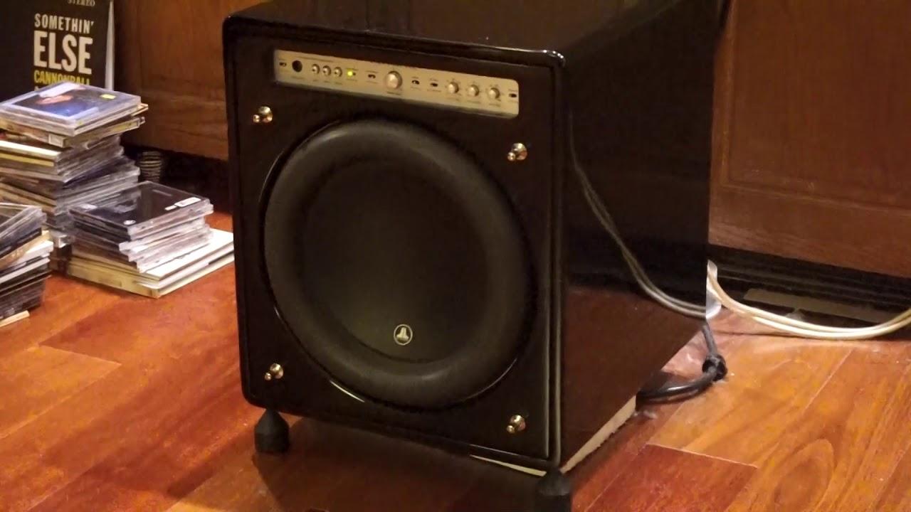 Totem_ JL Audio F112 subwoofer_ for sale - YouTube
