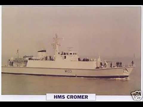 1990 HMS CROMER royal navy minehunter military ship facts history