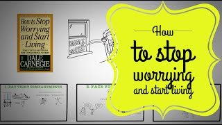 How to stop worrying and start living book summary Dale Carnegie
