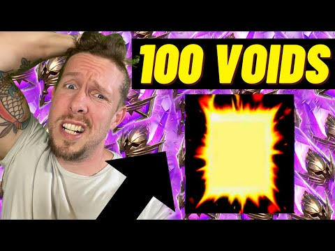 100+ VOID SHARDS GOT ME... THIS GUY....