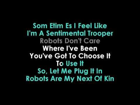 Red Hot Chili Peppers Go Robot karaoke   | GOLDEN KARAOKE
