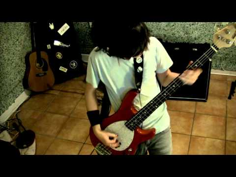 Less Than Jake - Scott Farcas Takes It On the Chin (Bass cover)