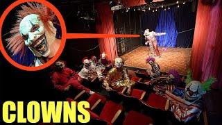palyaço sinemasının içinde palyaço gördüğünüzde, şovu izlemeyin !! Olabildiğince HIZLI dışarı çık !!