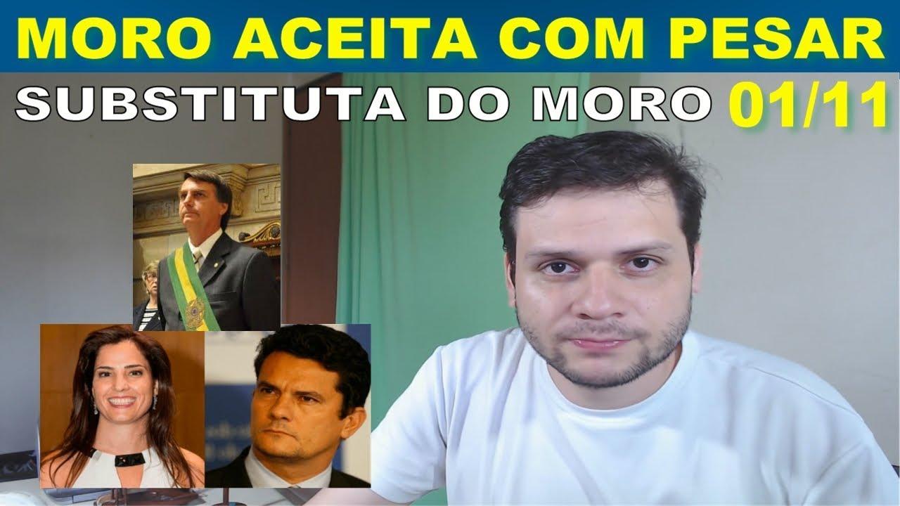 Sérgio Moro aceita convite de Bolsonaro e substituta de Moro em Curitiba é divulgada