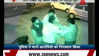 Watch: Shocking footage of 4 men assaulting man for asking