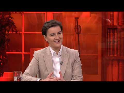 Ana Brnabic za TV Happy - Zamrznuti konflikt je zamrznuta nestabilnost - DJS - (TV Happy 10.01.2019)