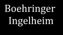How to pronounce Boehringer Ingelheim