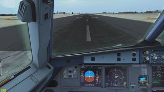 FSX - Voo entre Luxembourg-City e Londres ELLX-EGLL - A320 British Airways Online na IVAO
