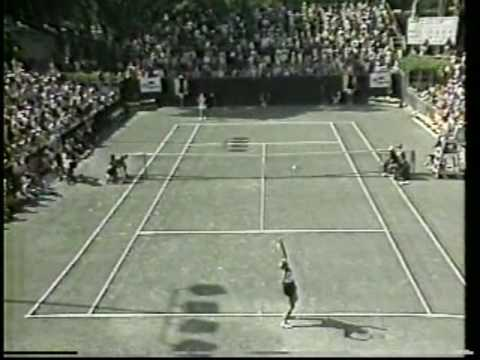 Chris Evert vs Carling Bassett - 1983 Amelia Island final