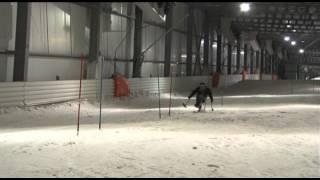 Entrainement equipe de France de  ski handisport