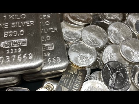 Silver Bars Or Silver Coins which is a better buy?