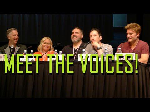 Meet the Actors Behind the Voices Panel - Denver Comic Con 2016