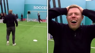Rob Beckett has brilliant volley ruled out by 'VAR!!! | Soccer AM Pro AM