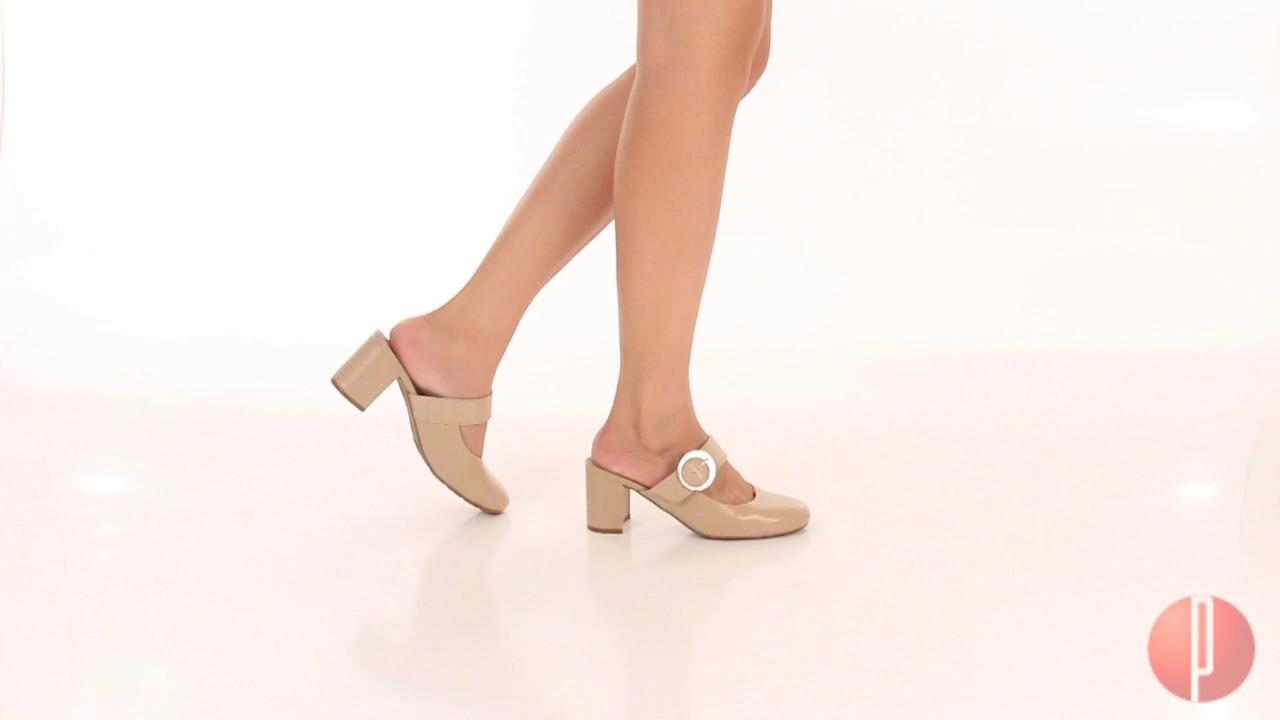 8d8ac7999 Sapato Salto Mule Conforto Feminino Modare - 6030499785 - YouTube