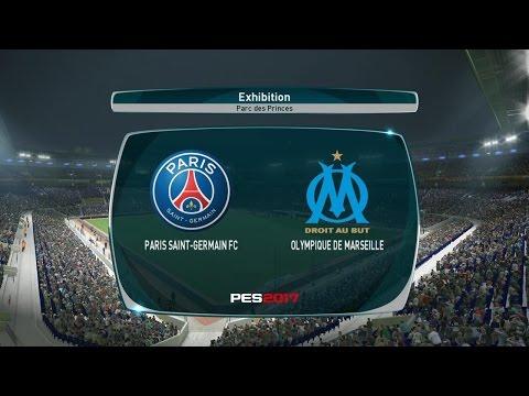Paris SG - Olympique Marseille [PES 2017] | Ligue 1 2016-2017 (10ème Journée) | CPU Vs CPU
