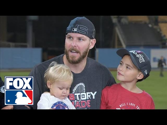 Chris Sale joins FOX MLB crew after closing out Game 5 of the 2018 World Series | FOX MLB