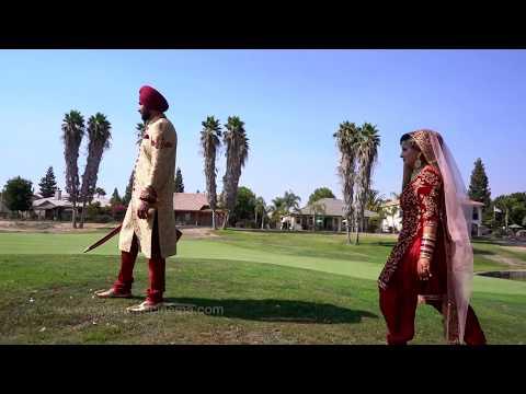 U S A Sikh Cinematic Wedding Highlights |...
