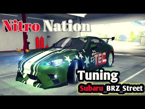 Nitro Nation 6 | Tuning Subaru BRZ street