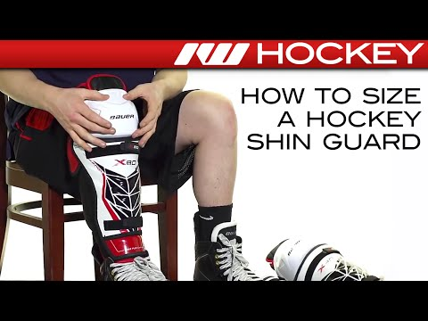 How To Size A Hockey Shin Guard