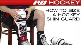 How to Size a Hockey Shin Guard