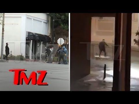 The Weeknd Shoots Music Video in Tiny Town for New Single Before Coachella   TMZ