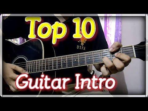 Top 10 Impressive Bollywood Guitar Intro - Super Easy Beginner's Lesson