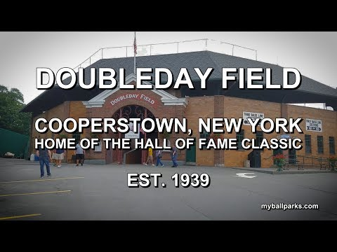 Quick Tour: Doubleday Field, Cooperstown, NY