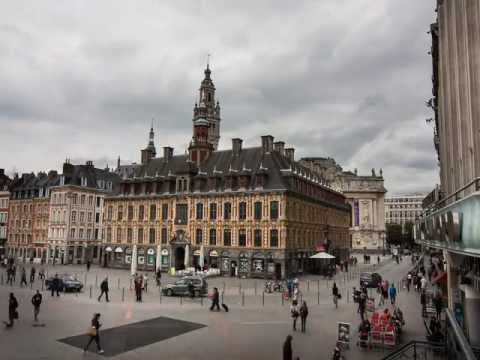 video vieille bourse Lille time lapse