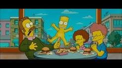 Bart fährt nackt auf dem Skateboard HD