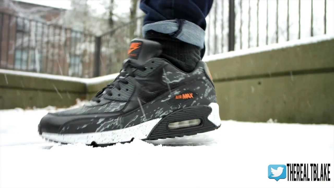 nike air max 90 swag black