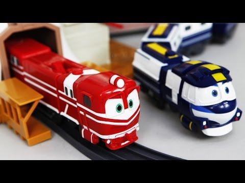 로봇트레인 알프 하우스 레일세트 장난감 미니특공대 로보카폴리 타요 또봇  | CarrieAndToys