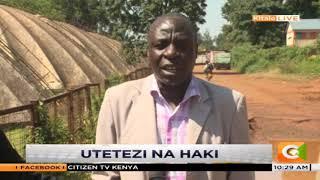 Watetezi wa haki walalamikia kutishiwa maisha katika kaunti ya Trans Nzoia