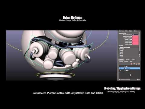 Dylan Hoffman Disney Internship Demo Reel