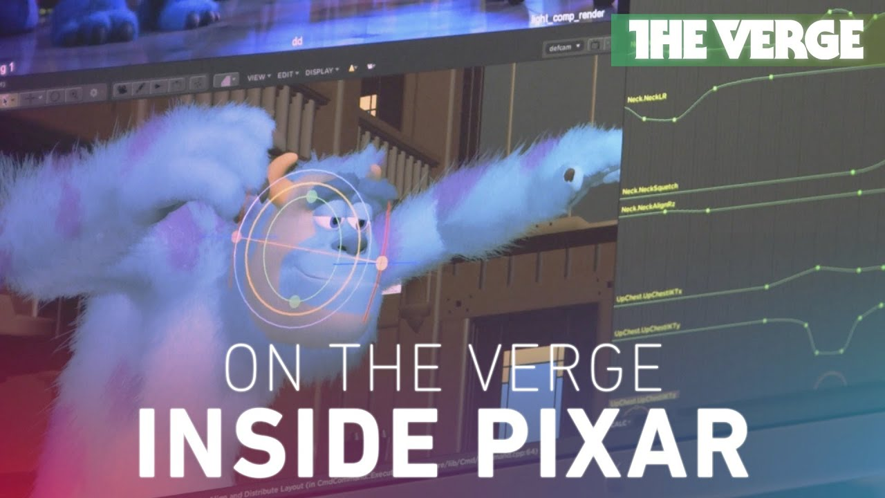 On The Verge: inside Pixar Animation Studios with Monsters University