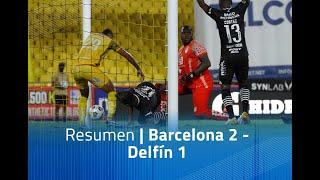 Resumen: Barcelona 2 - Delfín 1