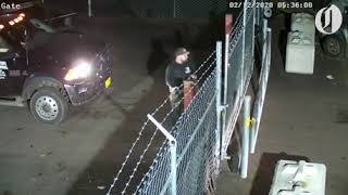 Woman steals her truck from impound lot and runs over worker
