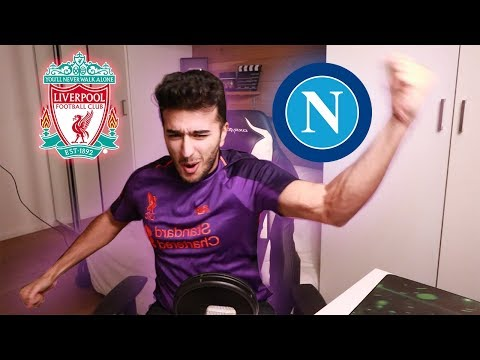 RPOOL FAN  REACTION TO NAPOLI GAME WHAT A GAME