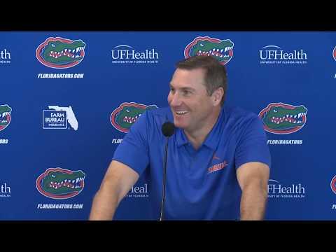 Florida Football: Dan Mullen Press Conference