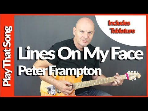 How To Play - Intro - Lines On My Face - Peter Frampton - Guitar Tutorial