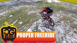 Mountain Bike FREE RIDING & Hiking in THE DOLOMITES with RICHIE SCHLEY - Part3 - CG VLOG #199