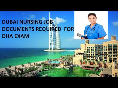 nursing jobs dubai, DHA exam documents requirement | www.dha.gov.ae|