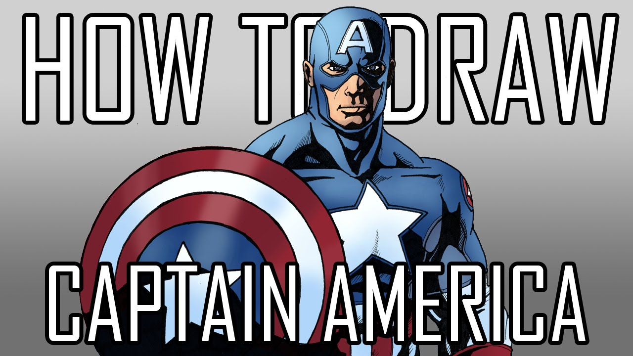 How To Draw Captain America Quick Simple Easy Steps For