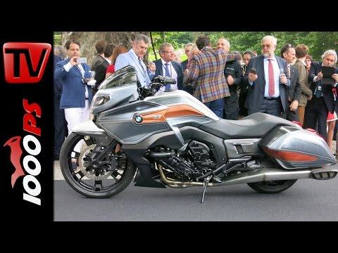 Bmw Concept 101 K1600 Gt Bagger Vs Honda F6b Funnycat Tv