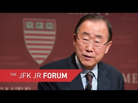 A Conversation with His Excellency Ban Ki-moon