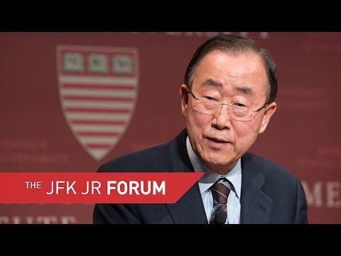 A Conversation with His Excellency Ban Ki-moon