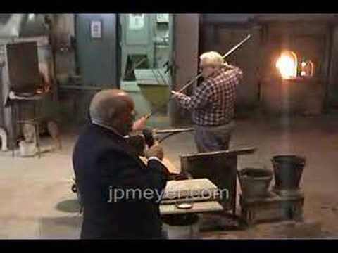 Italy travel: Venice's Murano Glass Factory Vase demo