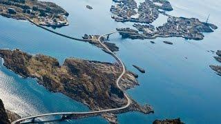 По Норвегии на мотоциклах Атлантическая дорога(По Норвегии на мотоциклах Видео замечательного путешествия четверки наших бесстрашных парней, описанное..., 2015-06-24T20:05:56.000Z)