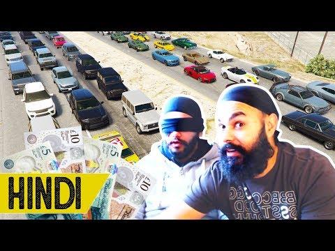 FUNNY BLINDFOLD *CHALLENGE* | GTA 5 Online